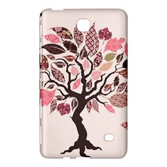 Tree Butterfly Insect Leaf Pink Samsung Galaxy Tab 4 (7 ) Hardshell Case  by Alisyart