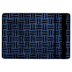 Woven1 Black Marble & Blue Stone (r) Apple Ipad Air 2 Flip Case by trendistuff