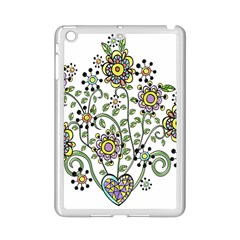 Frame Flower Floral Sun Purple Yellow Green Ipad Mini 2 Enamel Coated Cases by Alisyart