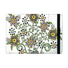 Frame Flower Floral Sun Purple Yellow Green Ipad Mini 2 Flip Cases by Alisyart