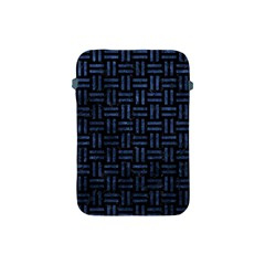 Woven1 Black Marble & Blue Stone Apple Ipad Mini Protective Soft Case by trendistuff