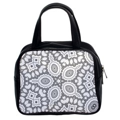 Scope Random Black White Classic Handbags (2 Sides) by Alisyart