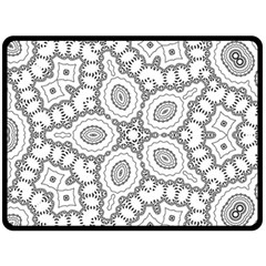 Scope Random Black White Fleece Blanket (large)  by Alisyart