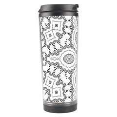 Scope Random Black White Travel Tumbler by Alisyart