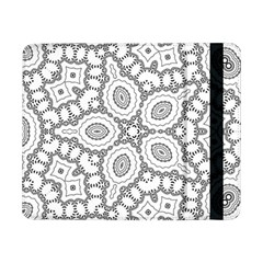 Scope Random Black White Samsung Galaxy Tab Pro 8 4  Flip Case by Alisyart