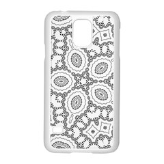 Scope Random Black White Samsung Galaxy S5 Case (white)