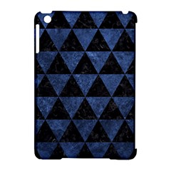 Triangle3 Black Marble & Blue Stone Apple Ipad Mini Hardshell Case (compatible With Smart Cover) by trendistuff