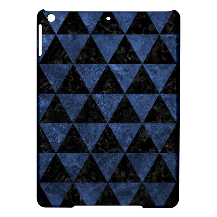 TRIANGLE3 BLACK MARBLE & BLUE STONE Apple iPad Air Hardshell Case