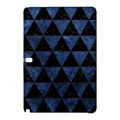 Triangle3 Black Marble & Blue Stone Samsung Galaxy Tab Pro 12 2 Hardshell Case by trendistuff