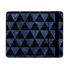 Triangle3 Black Marble & Blue Stone Samsung Galaxy Tab Pro 8 4  Flip Case by trendistuff