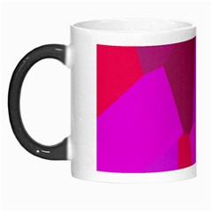 Voronoi Pink Purple Morph Mugs by Alisyart
