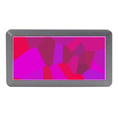 Voronoi Pink Purple Memory Card Reader (mini) by Alisyart