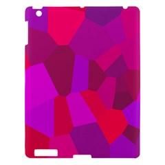 Voronoi Pink Purple Apple Ipad 3/4 Hardshell Case by Alisyart