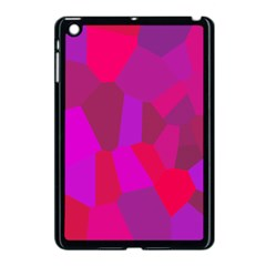 Voronoi Pink Purple Apple Ipad Mini Case (black) by Alisyart