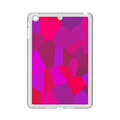 Voronoi Pink Purple Ipad Mini 2 Enamel Coated Cases by Alisyart