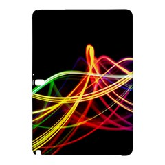 Vortex Rainbow Twisting Light Blurs Green Orange Green Pink Purple Samsung Galaxy Tab Pro 12 2 Hardshell Case