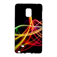 Vortex Rainbow Twisting Light Blurs Green Orange Green Pink Purple Galaxy Note Edge by Alisyart