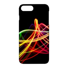 Vortex Rainbow Twisting Light Blurs Green Orange Green Pink Purple Apple Iphone 7 Plus Hardshell Case
