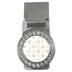 Alphabeth Rainbow Color Money Clips (cz)  by Alisyart