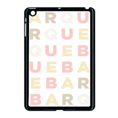Alphabeth Rainbow Color Apple Ipad Mini Case (black) by Alisyart