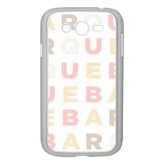 Alphabeth Rainbow Color Samsung Galaxy Grand Duos I9082 Case (white) by Alisyart