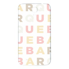 Alphabeth Rainbow Color Samsung Galaxy Mega I9200 Hardshell Back Case