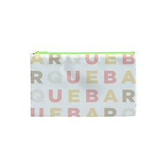 Alphabeth Rainbow Color Cosmetic Bag (xs) by Alisyart