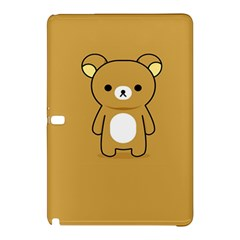 Bear Minimalist Animals Brown White Smile Face Samsung Galaxy Tab Pro 12 2 Hardshell Case