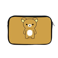 Bear Minimalist Animals Brown White Smile Face Apple Macbook Pro 13  Zipper Case by Alisyart
