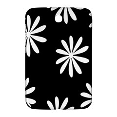 Black White Giant Flower Floral Samsung Galaxy Note 8 0 N5100 Hardshell Case  by Alisyart