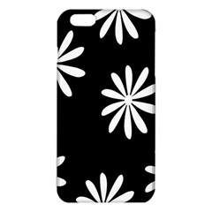 Black White Giant Flower Floral Iphone 6 Plus/6s Plus Tpu Case by Alisyart