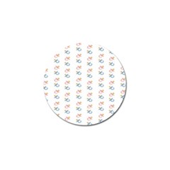 Baby Pacifier Pink Blue Brown Kids Golf Ball Marker (4 Pack) by Alisyart