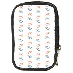 Baby Pacifier Pink Blue Brown Kids Compact Camera Cases
