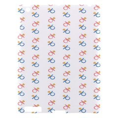 Baby Pacifier Pink Blue Brown Kids Apple Ipad 3/4 Hardshell Case by Alisyart