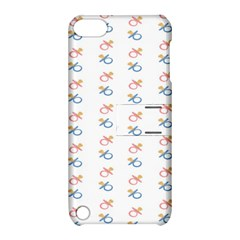 Baby Pacifier Pink Blue Brown Kids Apple Ipod Touch 5 Hardshell Case With Stand by Alisyart