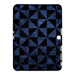 Triangle1 Black Marble & Blue Stone Samsung Galaxy Tab 4 (10 1 ) Hardshell Case  by trendistuff