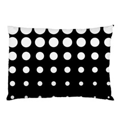 Circle Masks White Black Pillow Case (two Sides) by Alisyart