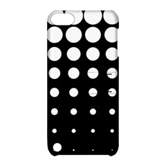 Circle Masks White Black Apple Ipod Touch 5 Hardshell Case With Stand by Alisyart