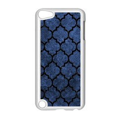 Tile1 Black Marble & Blue Stone (r) Apple Ipod Touch 5 Case (white) by trendistuff