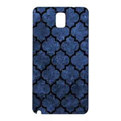 Tile1 Black Marble & Blue Stone (r) Samsung Galaxy Note 3 N9005 Hardshell Back Case by trendistuff