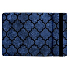 Tile1 Black Marble & Blue Stone (r) Apple Ipad Air Flip Case by trendistuff