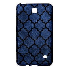 Tile1 Black Marble & Blue Stone (r) Samsung Galaxy Tab 4 (7 ) Hardshell Case  by trendistuff