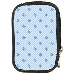 Blue Butterfly Line Animals Fly Compact Camera Cases by Alisyart