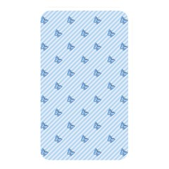 Blue Butterfly Line Animals Fly Memory Card Reader