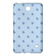 Blue Butterfly Line Animals Fly Samsung Galaxy Tab 4 (7 ) Hardshell Case  by Alisyart