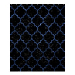 Tile1 Black Marble & Blue Stone Shower Curtain 60  X 72  (medium) by trendistuff