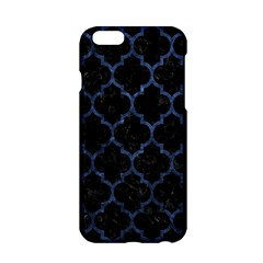 Tile1 Black Marble & Blue Stone Apple Iphone 6/6s Hardshell Case by trendistuff