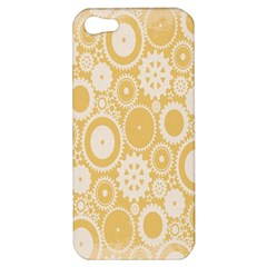 Wheels Star Gold Circle Yellow Apple Iphone 5 Hardshell Case by Alisyart
