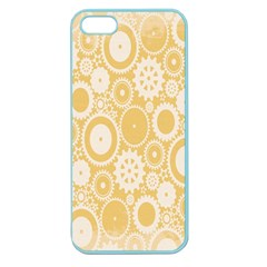 Wheels Star Gold Circle Yellow Apple Seamless Iphone 5 Case (color) by Alisyart