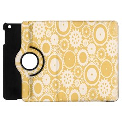 Wheels Star Gold Circle Yellow Apple Ipad Mini Flip 360 Case by Alisyart